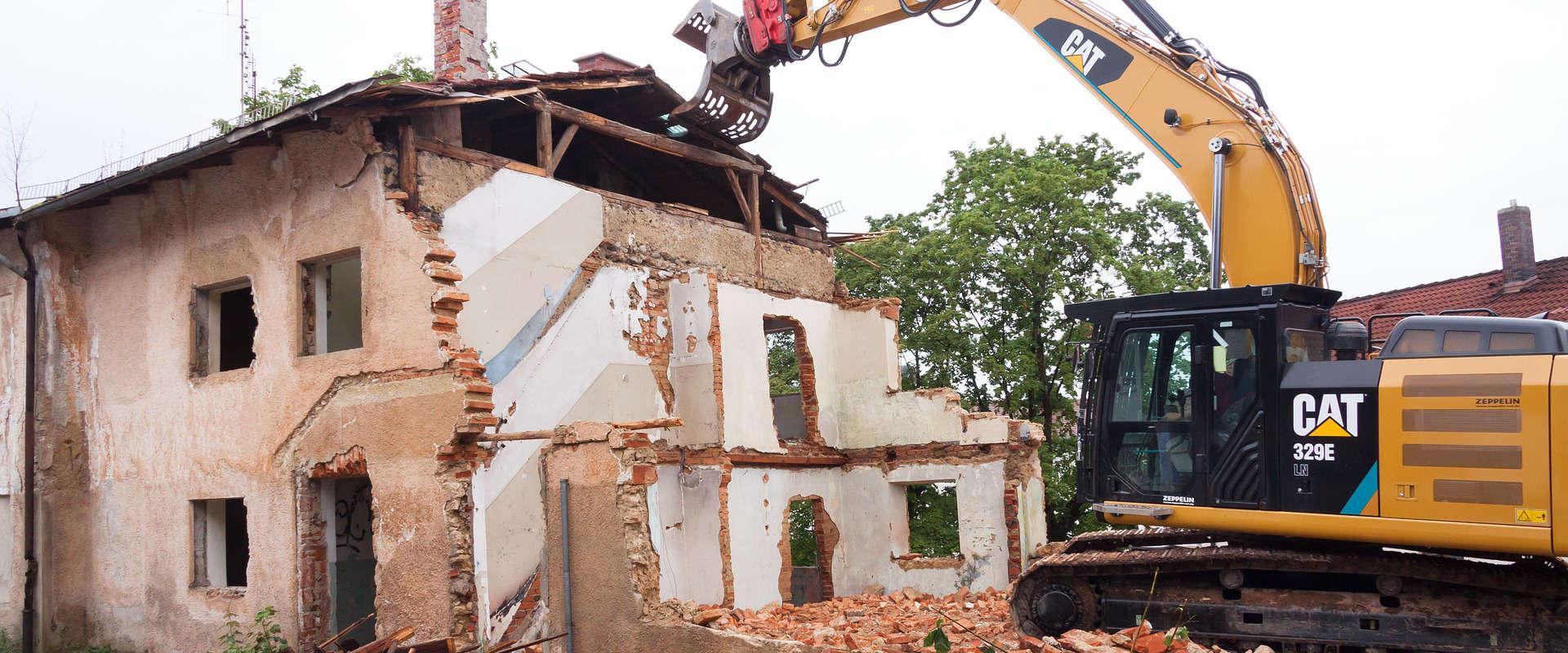 Prix pour démolition de maisons et bâtiments
