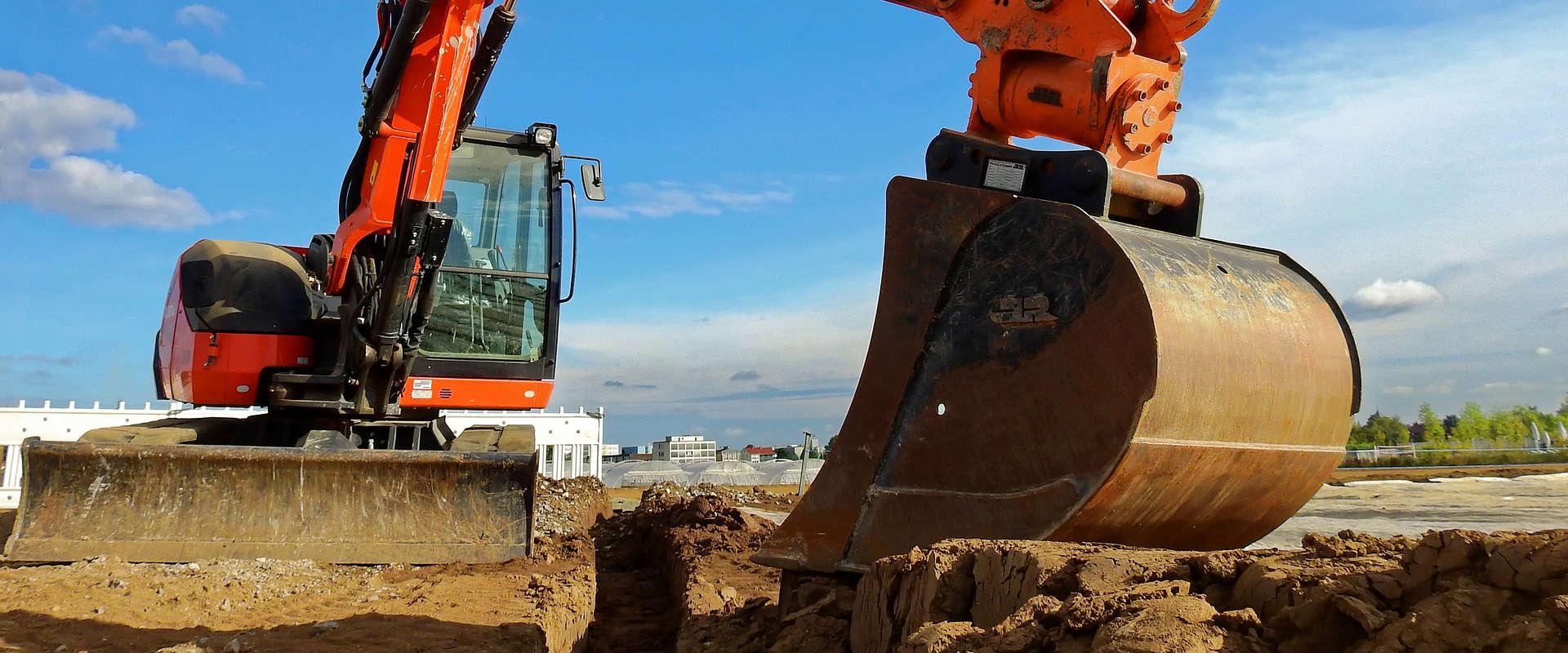 Prix pour des travaux d'excavation