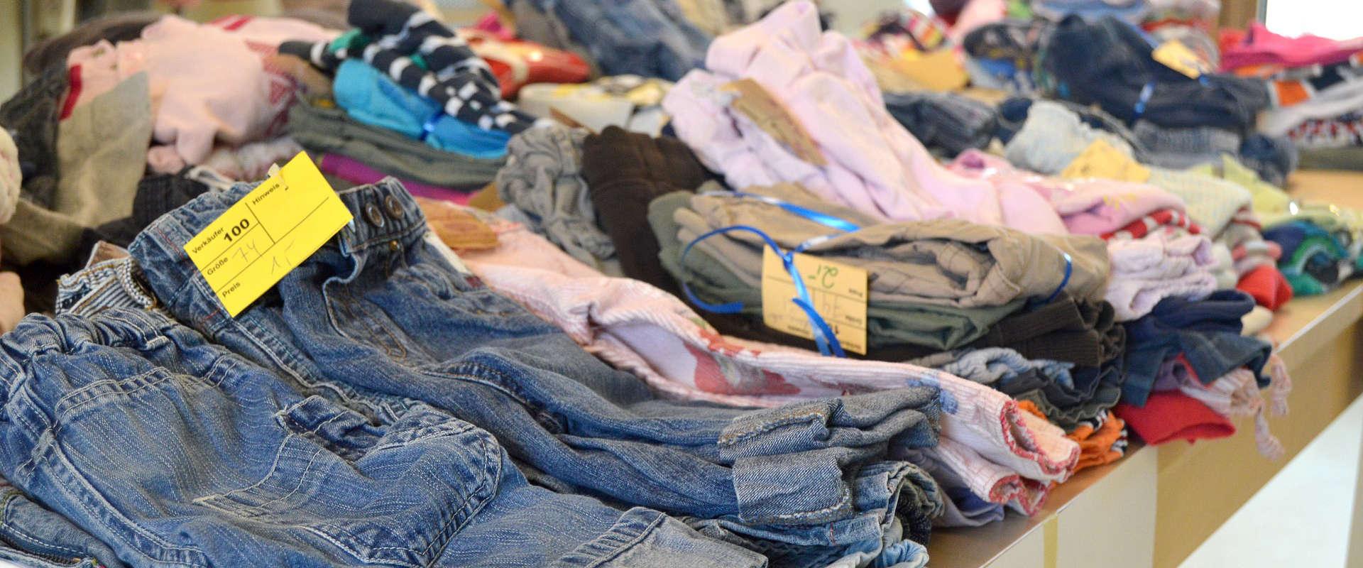 Friperie et vêtements usagés