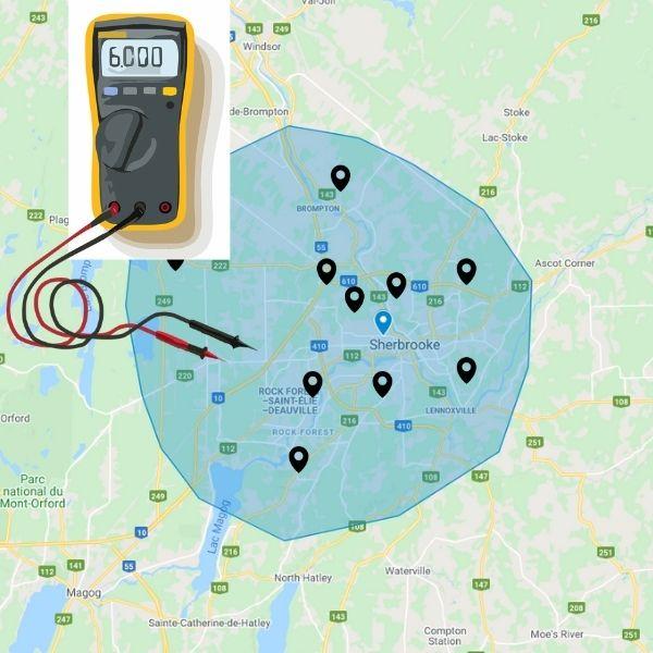 Trouver le meilleur électricien à Sherbrooke et dans les environs
