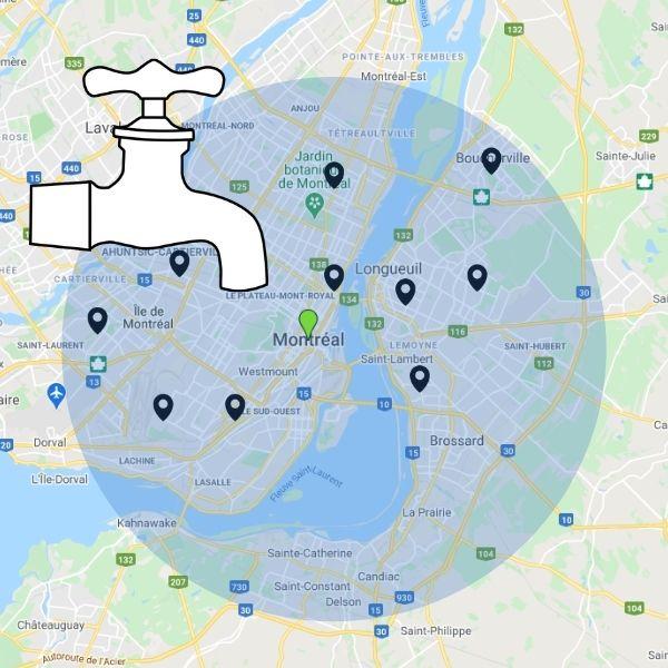 Trouver le meilleur plombier dans la ville de Montréal